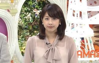 (放送事故)加藤綾子、スケスケの服装で「めざましテレビ」に生出演wwwwwwww 写真49枚