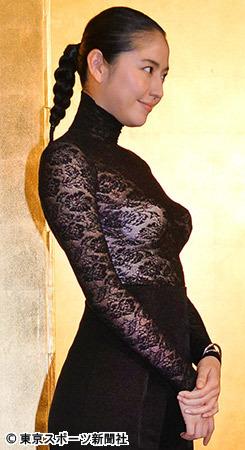 長澤まさみ(29)三十路フルヌード、Fカップ乳首解禁…⇒「文芸作品だったら脱ぎます…」