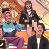 渋谷凪咲さん、お股がガバガバすぎる!暴れてスカートが・・・
