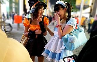 (写真)ハロウィンにハメドリされてる仮装えろオンナ達がこちらwwwwwwwwwwww(シロウトコスプレ)