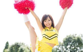 現役女子大学生のチアガールがまさかのAV新人☆☆アクロバティックな体位がすげーwwwwwwwwww(えろ写真33枚)
