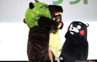 (写真)クマたちが小嶋陽菜をせくはらwwwwwwやはりクマは凶暴だったwwwwwwwwww
