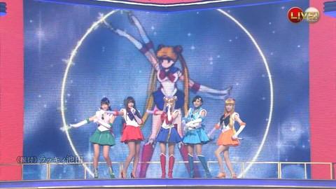 第66回紅白歌合戦 アニメ紅白 AKB48 セーラームーンコスプレ画像004