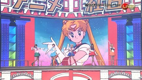 第66回紅白歌合戦 アニメ紅白 AKB48 セーラームーンコスプレ画像005