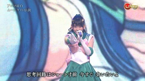 第66回紅白歌合戦 アニメ紅白 AKB48 セーラームーンコスプレ画像009