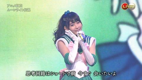 第66回紅白歌合戦 アニメ紅白 AKB48 セーラームーンコスプレ画像010