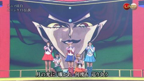 第66回紅白歌合戦 アニメ紅白 AKB48 セーラームーンコスプレ画像011