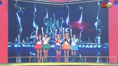 第66回紅白歌合戦 アニメ紅白 AKB48 セーラームーンコスプレ画像012