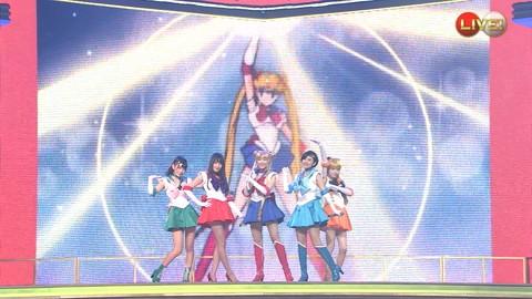 第66回紅白歌合戦 アニメ紅白 AKB48 セーラームーンコスプレ画像015