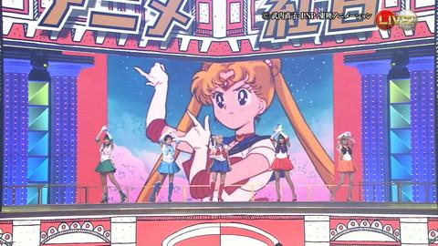 第66回紅白歌合戦 アニメ紅白 AKB48 セーラームーンコスプレ画像016