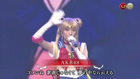 第66回紅白歌合戦 アニメ紅白 AKB48 セーラームーンコスプレ画像021