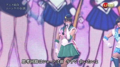第66回紅白歌合戦 アニメ紅白 AKB48 セーラームーンコスプレ画像027