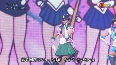 第66回紅白歌合戦 アニメ紅白 AKB48 セーラームーンコスプレ画像028
