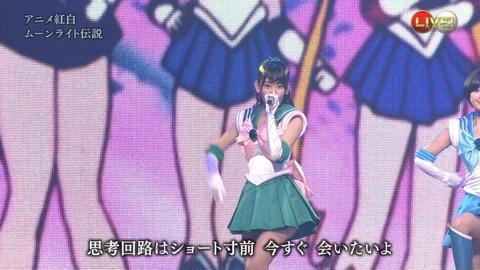 第66回紅白歌合戦 アニメ紅白 AKB48 セーラームーンコスプレ画像031