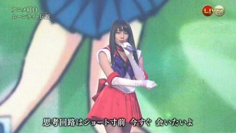 第66回紅白歌合戦 アニメ紅白 AKB48 セーラームーンコスプレ画像032