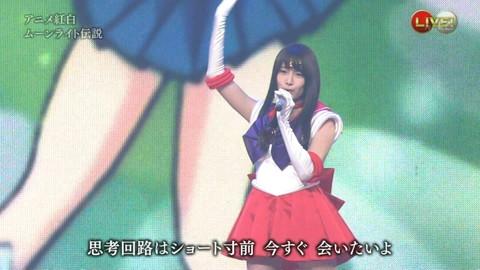 第66回紅白歌合戦 アニメ紅白 AKB48 セーラームーンコスプレ画像034