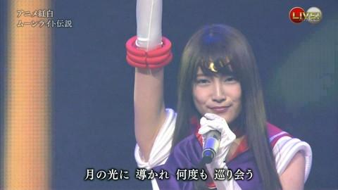 第66回紅白歌合戦 アニメ紅白 AKB48 セーラームーンコスプレ画像036