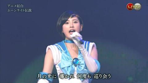 第66回紅白歌合戦 アニメ紅白 AKB48 セーラームーンコスプレ画像037