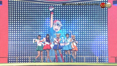 第66回紅白歌合戦 アニメ紅白 AKB48 セーラームーンコスプレ画像041