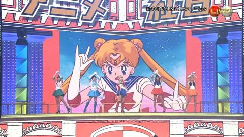 第66回紅白歌合戦 アニメ紅白 AKB48 セーラームーンコスプレ画像043