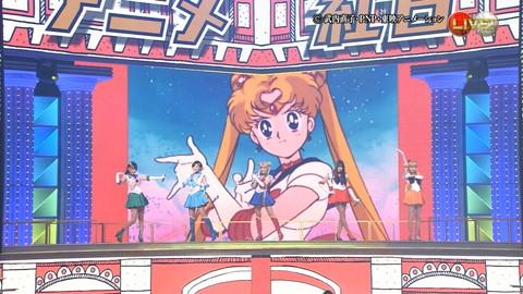 第66回紅白歌合戦 アニメ紅白 AKB48 セーラームーンコスプレ画像044