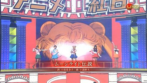 第66回紅白歌合戦 アニメ紅白 AKB48 セーラームーンコスプレ画像045