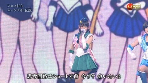 第66回紅白歌合戦 アニメ紅白 AKB48 セーラームーンコスプレ画像053