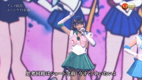 第66回紅白歌合戦 アニメ紅白 AKB48 セーラームーンコスプレ画像054