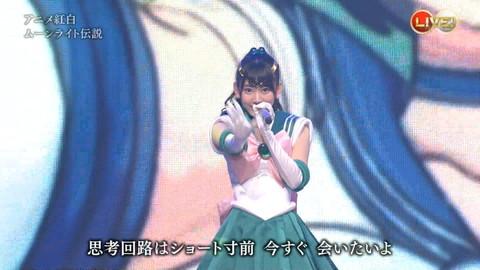第66回紅白歌合戦 アニメ紅白 AKB48 セーラームーンコスプレ画像055