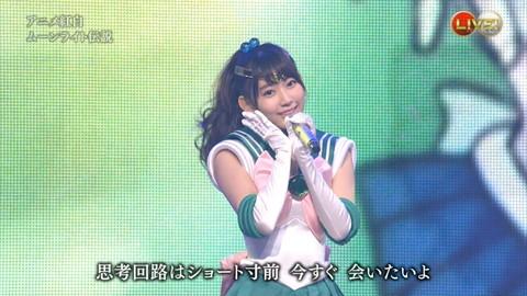 第66回紅白歌合戦 アニメ紅白 AKB48 セーラームーンコスプレ画像056