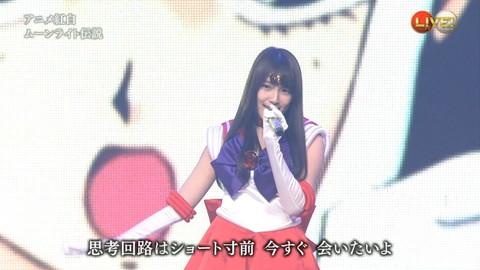 第66回紅白歌合戦 アニメ紅白 AKB48 セーラームーンコスプレ画像058