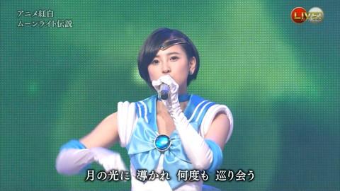 第66回紅白歌合戦 アニメ紅白 AKB48 セーラームーンコスプレ画像061