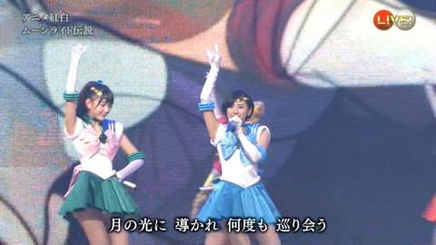 第66回紅白歌合戦 アニメ紅白 AKB48 セーラームーンコスプレ画像064