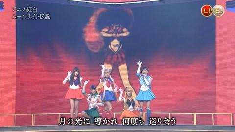 第66回紅白歌合戦 アニメ紅白 AKB48 セーラームーンコスプレ画像065