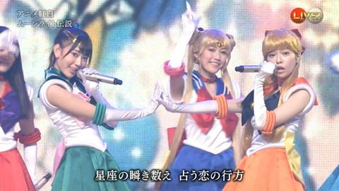 第66回紅白歌合戦 アニメ紅白 AKB48 セーラームーンコスプレ画像067