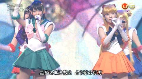 第66回紅白歌合戦 アニメ紅白 AKB48 セーラームーンコスプレ画像069