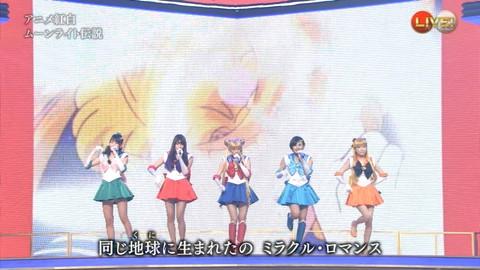 第66回紅白歌合戦 アニメ紅白 AKB48 セーラームーンコスプレ画像073