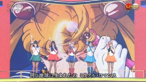第66回紅白歌合戦 アニメ紅白 AKB48 セーラームーンコスプレ画像074