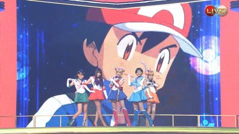第66回紅白歌合戦 アニメ紅白 AKB48 セーラームーンコスプレ画像075