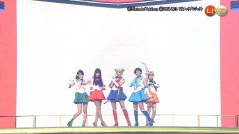 第66回紅白歌合戦 アニメ紅白 AKB48 セーラームーンコスプレ画像076