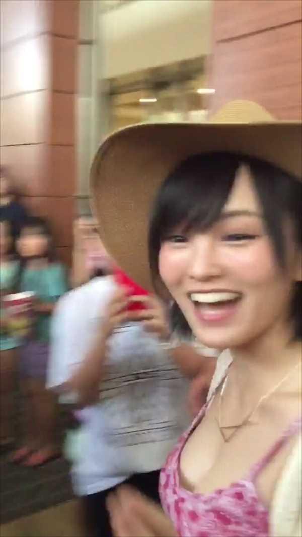 【巨乳画像】山本彩のお○ぱいwwwwファンの前で大公開wwww(画像40枚)