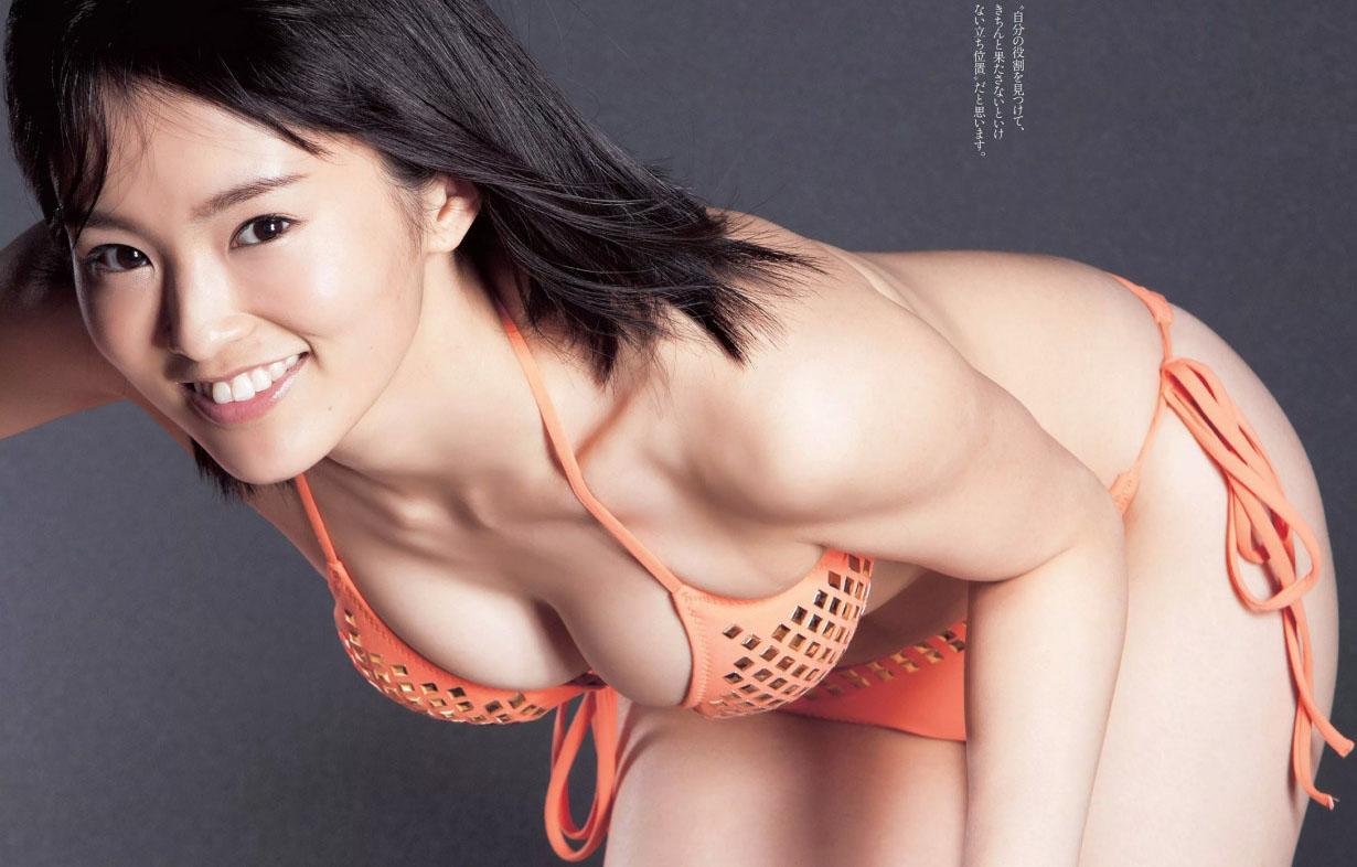 oka(写真)NMB48山本彩がやらしいミズ着ばっかり着せられてえろすぎるわwwww