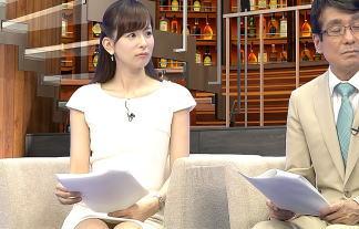 (写真あり)皆藤愛子アナ、パンツ丸見え・縦スジくっきり放送事故wwwwwwわざと見せてるレベルwwwwww