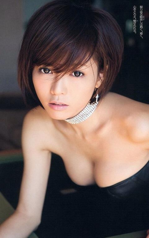 釈由美子 胸チラ おっぱい エロ画像005