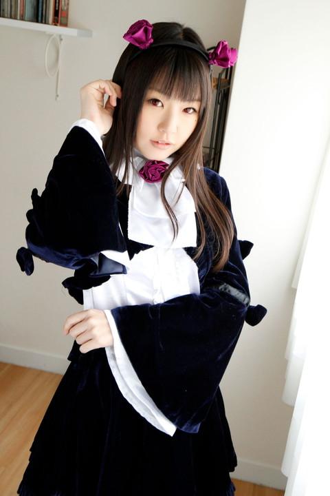 俺妹 黒猫 コスプレ画像 つぼみ005