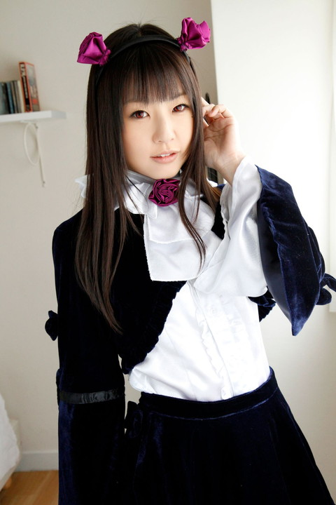 俺妹 黒猫 コスプレ画像 つぼみ008