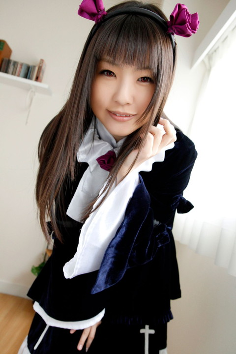 俺妹 黒猫 コスプレ画像 つぼみ011