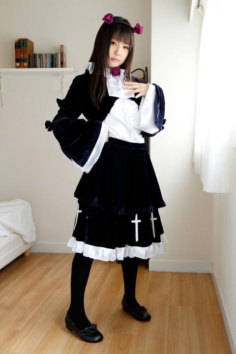 俺妹 黒猫 コスプレ画像 つぼみ013