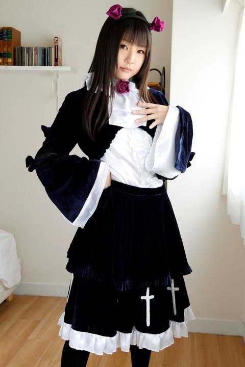 俺妹 黒猫 コスプレ画像 つぼみ014
