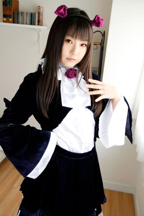 俺妹 黒猫 コスプレ画像 つぼみ016